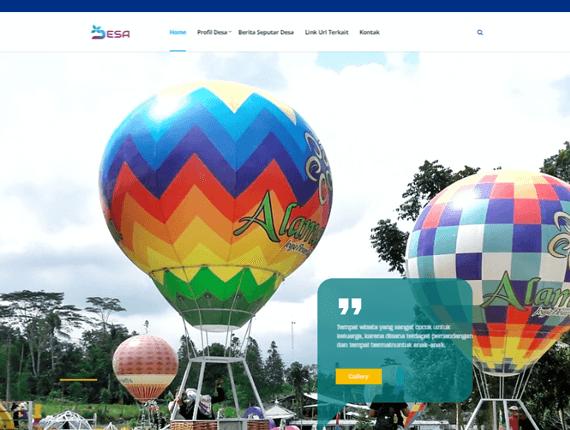 Web Desa Theme Field